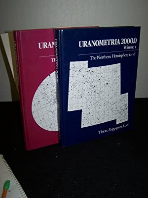 Uranometria 2000.0 The Northern Hemisphere to -6 degrees: The Southern Hemisphere to +6 degrees.(2 ...