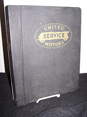 United Motors Delco and Sunlight Motors Service Manual No. 18.3.: United Motors Sevice.