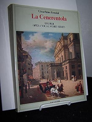 La Cenerentola.: Rossini, Gioachino.