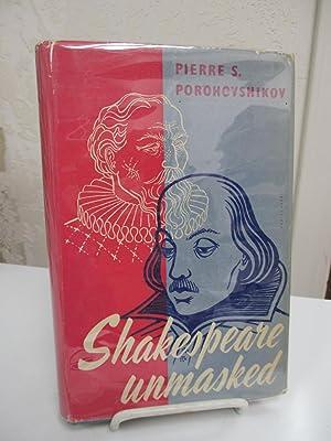 Shakespeare Unmasked.: Porohovshikov, Pierre S.