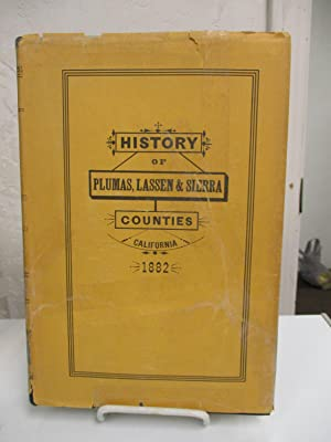 Reproduction of Fariss and Smith's History of Plumas, Lassen & Sierra Counties, California...
