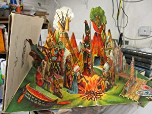 The Day of the Bison Hunt. (Pop-up Book).: Kubasta, Vojtech.