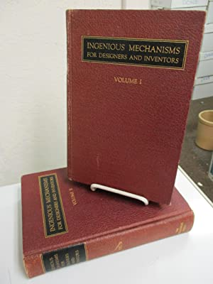 Ingenious Mechanisms for Designers and Inventors. Volumes 1 &2.: Jones, Franklin D. (editor).