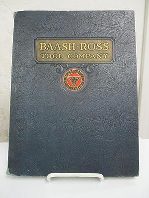 Baash-Ross Tool Company General Catalog.: Baash-Ross Tool Company.