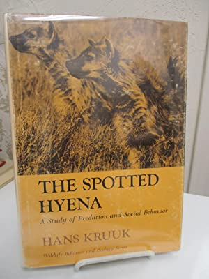 The Spotted Hyena; A Study of Predation: Krunk, Hans.