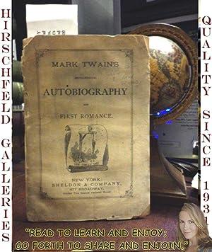 Mark Twain's (Burlesque) Autobiography And First Romance.: Twain, Mark [CLEMENS, Samuel]