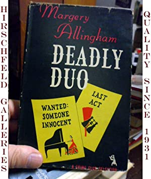 DEADLY DUO: WANTED: SOMEONE INNOCENT, LAST ACT.: Allingham, Margery