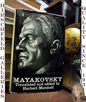 MAYAKOVSKY (signed By Translator and editor): Translated and edited by Herbert Marshall