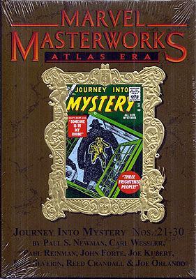 Marvel Masterworks: Atlas Era, Journey Into Mystery Numbers 21-30 - Lee, Stan et al. (MARVEL MASTERWORKS)