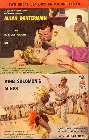Allan Quatermain / King Solomon's Mines: Haggard, H. Rider