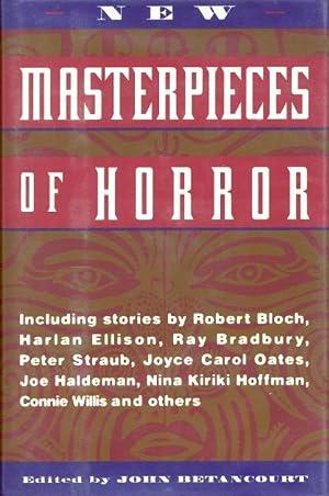 New Masterpieces of Horror: Betancourt, John (editor)