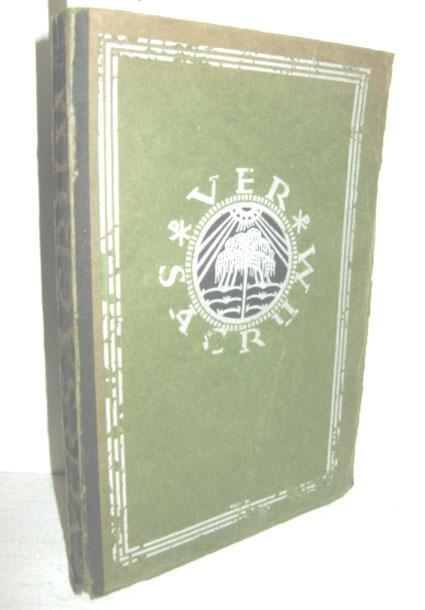 VER SACRUM (Was die im Kriege gefallenen: SIEGMUND-SCHULTZE, FRIEDRICH (Hrsg.):