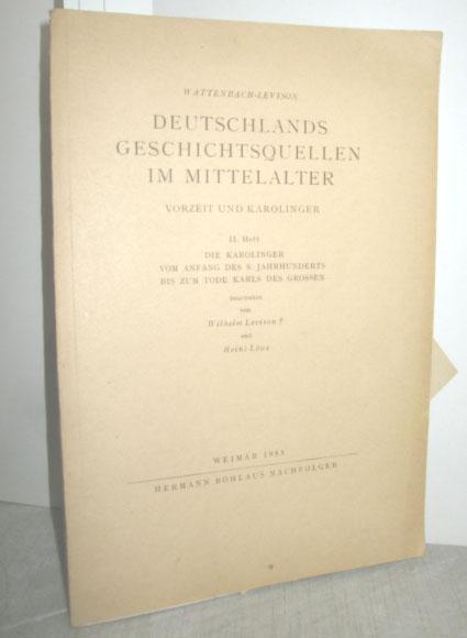 Deutschlands Geschichtsquellen im Mittelalter II. Heft (Die: LEVISON, WILHELM du
