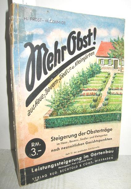 Mehr Obst Aus Haus Bauern Siedler Und Kleingarten Von Frost