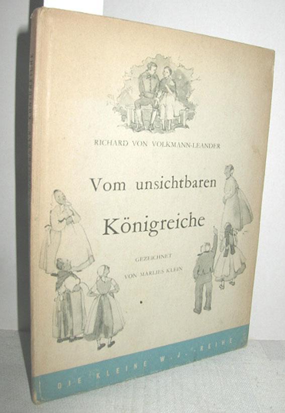Allgemeine Kurzgeschichten Vom Unsichtbaren Königreiche Richard Von Volkmann-leander Verkaufspreis