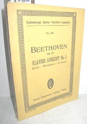 Klavier-Konzert No. 5 Es-dur Op. 73 (Taschen-Partitur): BEETHOVEN, LUDWIG van: