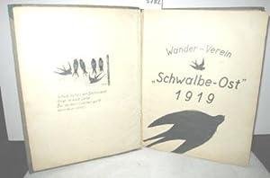 Fahrtenbuch des Wander-Vereins »Schwalbe-Ost 1919« von 1922 bis 1927: OHNE AUTOR: