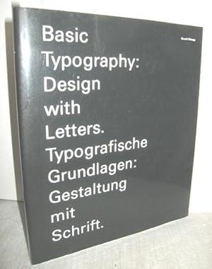 Typografische Grundlagen: Gestaltung mit Schrift (Basic Typography: RÜEGG, RUEDI: