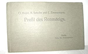 Profil des Rennsteigs: MAJOR, CL./SCHEIBE, R./ZIMMERMANN, E.: