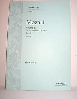 Requiem KV 626 (Klavierauszug): MOZART, WOLFGANG AMADEUS: