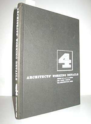 Architects Working Details - Volume 4 (Windows, Staircases, Walls and Partitions, Roofs and Ceili...