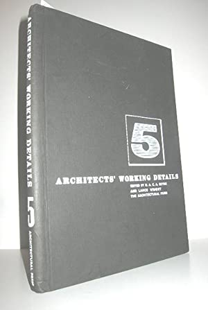 Architects Working Details - Volume 5 (Windows, Doors, Staircases, Walls and Partitions, Roofs an...