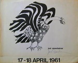17 - 18 April 1961 (Signed Broadside): Oppenheimer, Joel