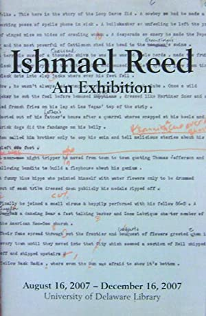Ishmael Reed An Exhibition (Poster)