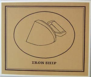 Iron Ship (Silkscreen Card): Finlay, Ian Hamilton and Ian Gardner