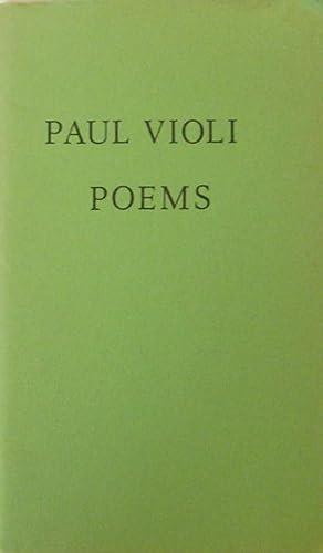 Some Poems: Violi, Paul