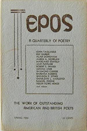 Epos A Quarterly Of Poetry Spring 1956 Issue