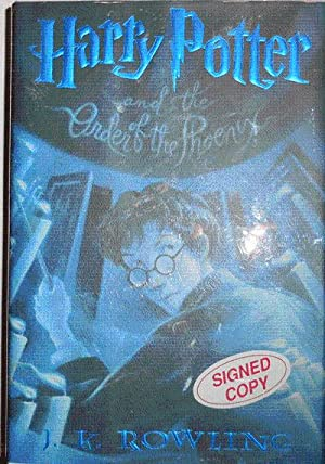 Harry Potter and the Order of the Phoenix (Signed by Illustrator)
