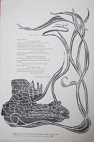 Hotel Particulier (Broadside Poem): O'Hara, Frank