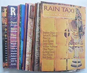 Rain Taxi Review of Books (17 Issues): Kuebler, Carolyn, Heath, Randall and Eric Lorberer et al, ...