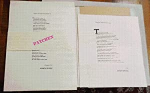 Two Broadside Poems: The Way Men Live Is A Lie and What I'd Like To Know Is: Patchen, Kenneth