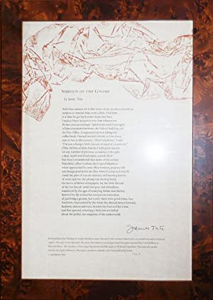 Shroud of the Gnome (Signed Lettered Broadside)