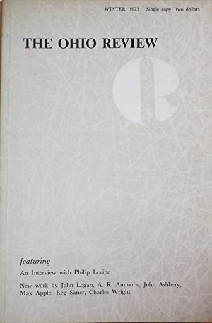 The Ohio Review Winter 1975 Volume XVI Number 2 (Signed by Levine)