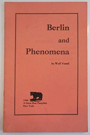 Berlin and Phenomena (Signed)