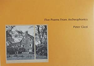 Five Poems From Archeophonics (Signed Limited Edition)