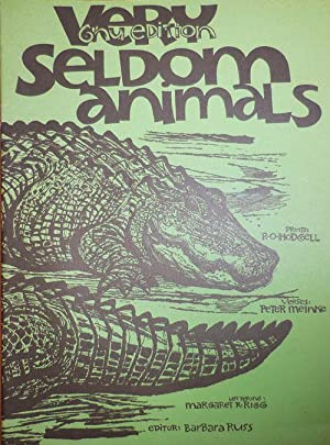 Very Seldom Animals (Inscribed by the Publisher)