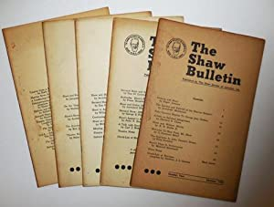 The Shaw Bulletin (Five Issues)