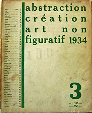 Abstraction Creation Art Non Figuratif 1934 (Number 3): Art - Seligmann / Kandinsky / Brancusi / ...