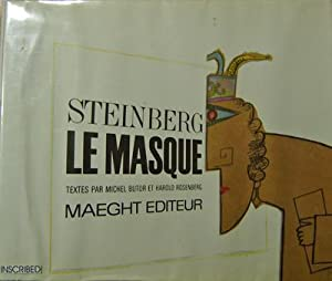Le Masque (Inscribed Copy); Textes Par Michel Butor Et Harold Rosenberg