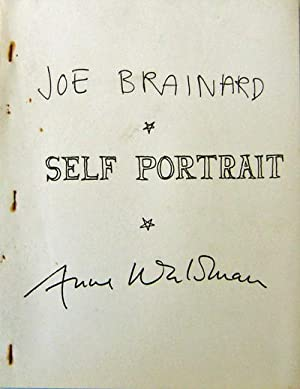 Self Portrait: Brainard, Joe and Anne Waldman