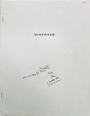 Disposed (Inscribed): Dickison, Steve