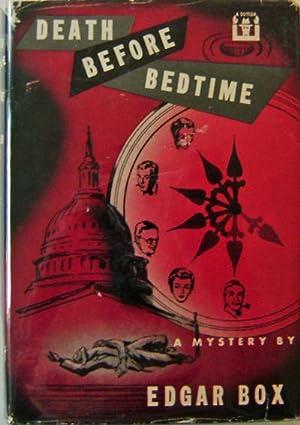 Death Before Bedtime: Mystery - Box, Edgar (Vidal, Gore)