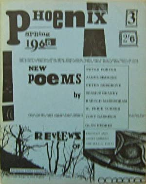 Phoenix No. 3 New Series; A Review of Poetry, Criticism And The Arts