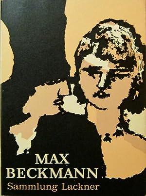 Max Beckmann (Inscribed by Lackner): Art - Lackner, Sammlung (Max Beckmann)