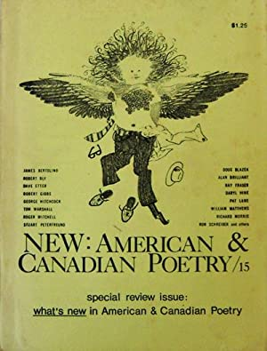 New: American & Canadian Poetry / 15: Gill, John, Editor (Doug Blazek, Robert Bly, Geof Hewitt,...