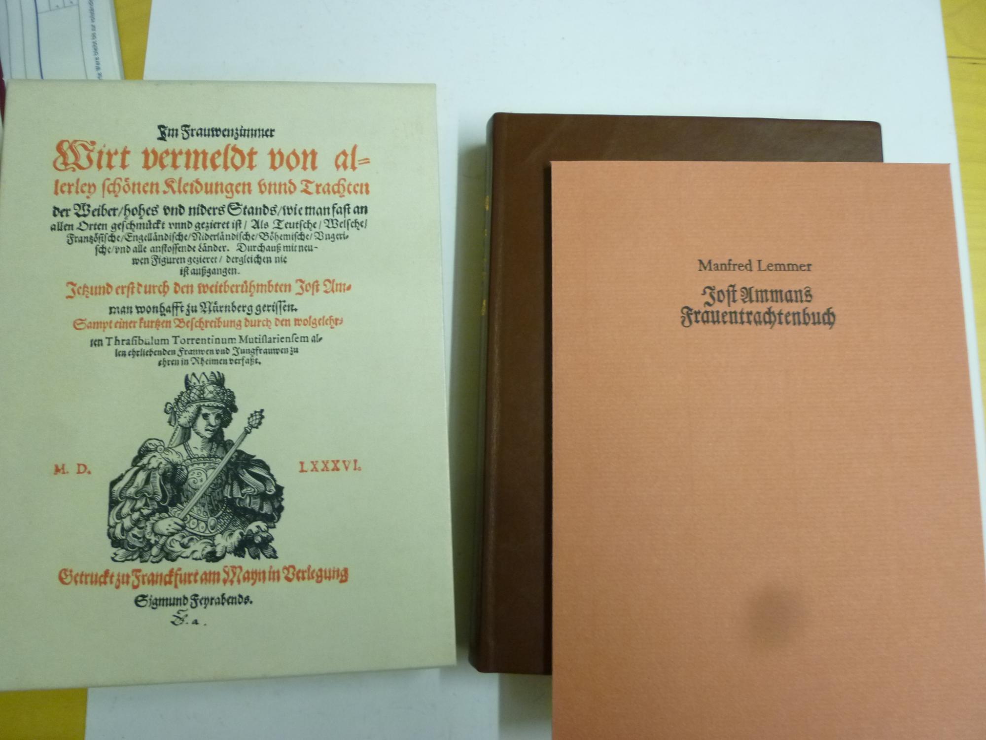 Frauentrchtenbuch Faksimile: Amman, Jost/Lemmer, M.